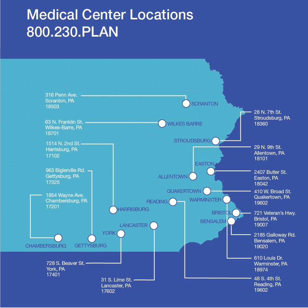 health center locations