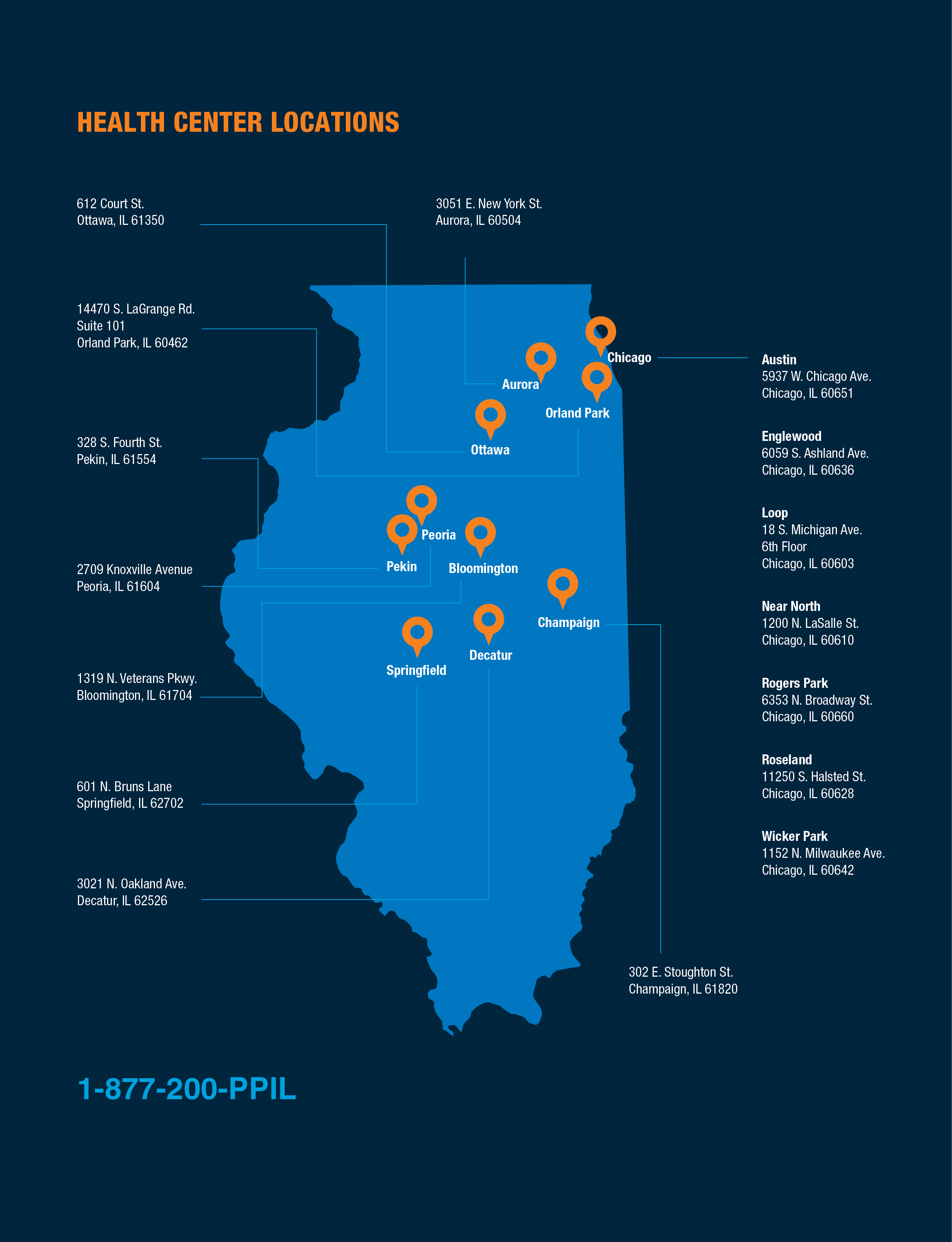 Online Appointments  Locations Planned Parenthood Of Illinois - Chicago illinois map of suburbs