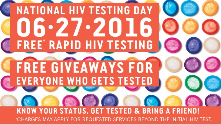 Free HIV Tests June 27
