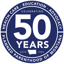 Planned Parenthood of Montana 50th Logo